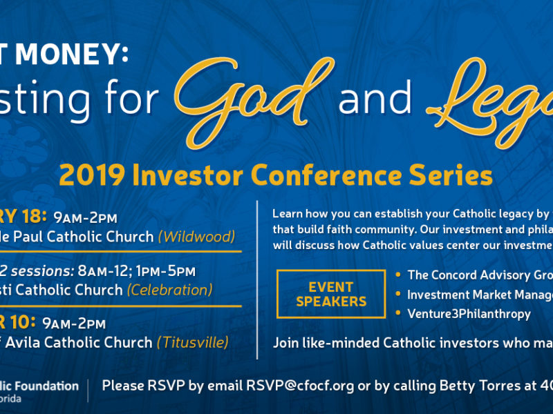 2019 Investor Conference Series Graphic