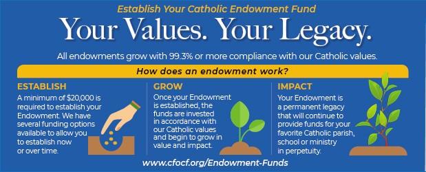 Establish Your Catholic Endowment Fund Banner