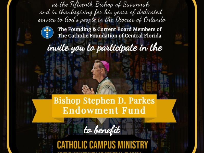 Bishop Stephen Parkes Endowment