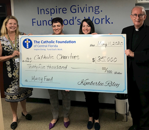 Mercy Fund Catholic Charities Check May 2020