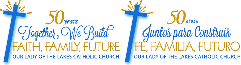 Our Lady of the Lakes Catholic Church logo