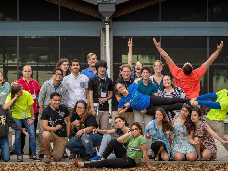 UCF Campus Ministry group
